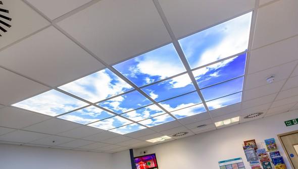 ceiling-Morriston HOSPITAL